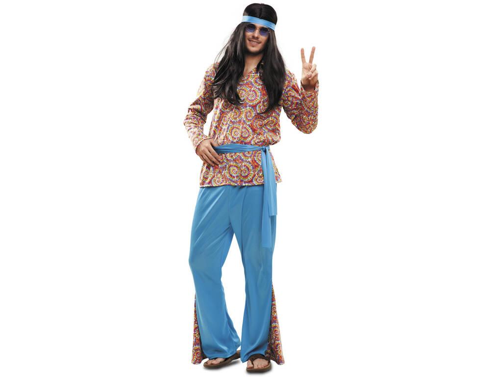 Disfraz Hombre L Hippie Psicodélico