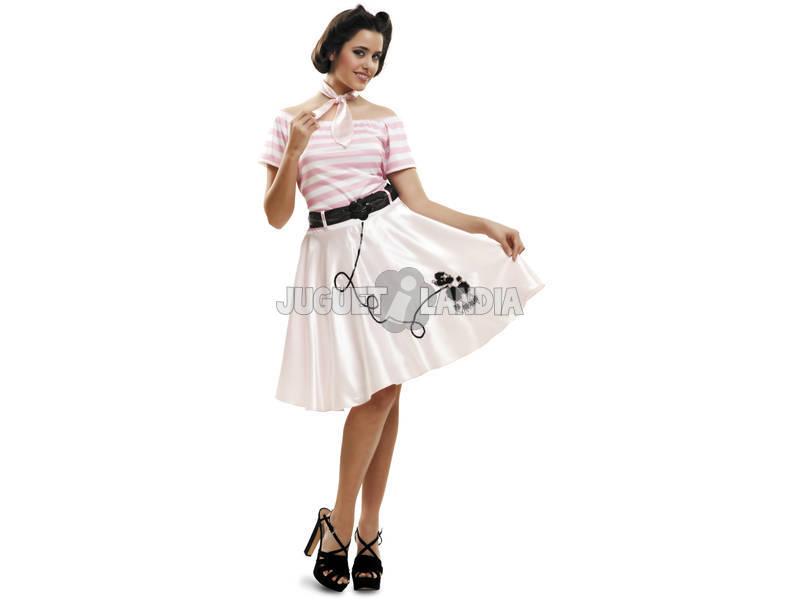 Disfraz Mujer S Pink Lady