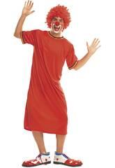 imagen Disfraz Hombre L Payaso Rojo