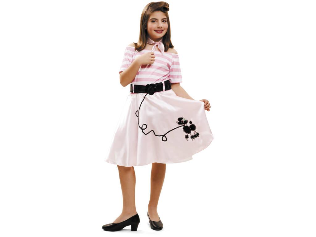Disfraz Niña S Pink Lady