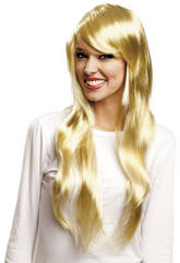 Perruque Fashion Longue Blonde
