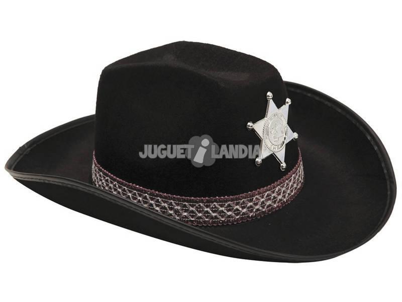Chapéu Vaqueiro Adulto Negro