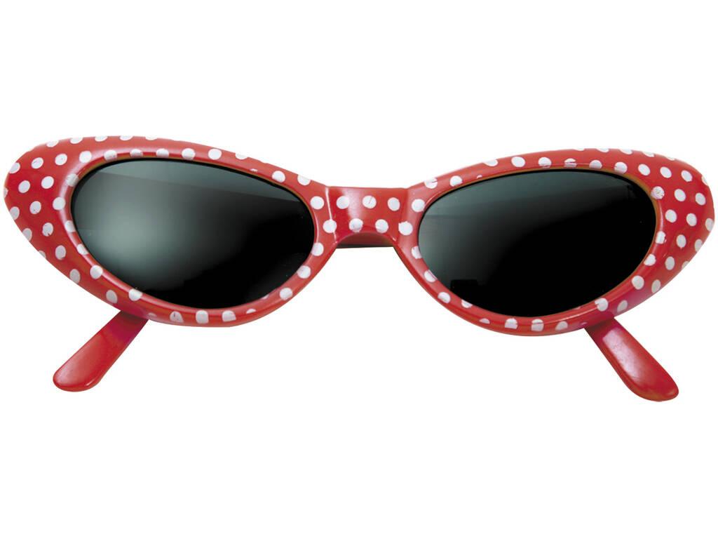 Gafas Años 50 Rojas