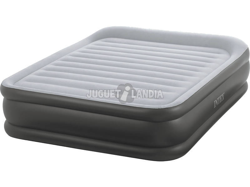 Colchón Deluxe Pillow Rest Raised Bed 152x203x42cm Intex 64436