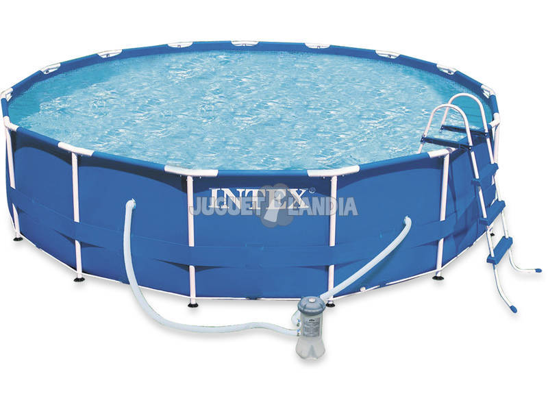 Piscina desmontable 457x84 cm intex 28228 juguetilandia for Ofertas piscinas desmontables