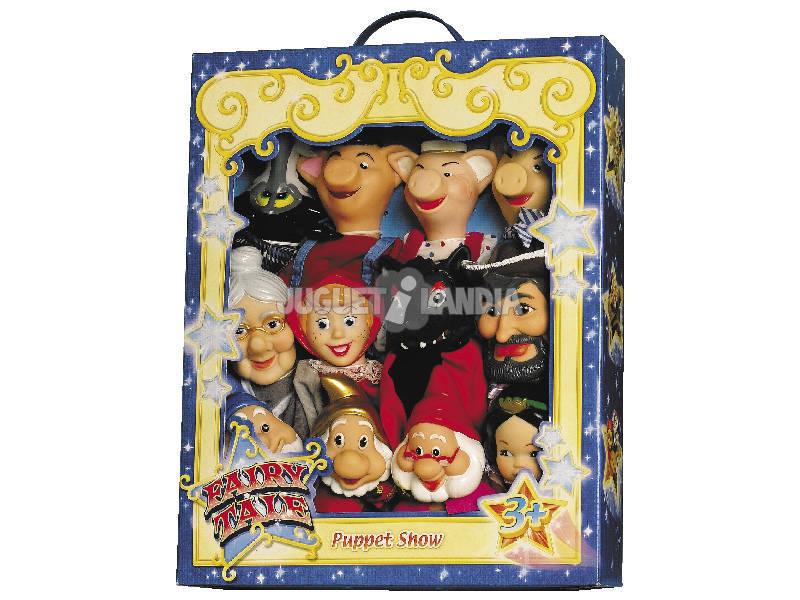 12 Marionnettes Contes Infantiles