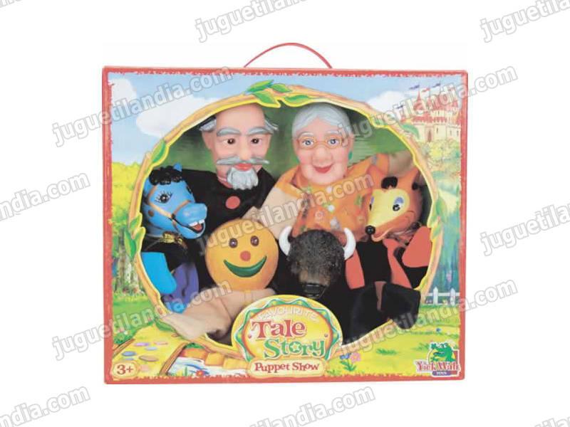 Marionetas El hombre de pan de Jengibre