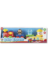 Train Baby Express avec 3 wagons
