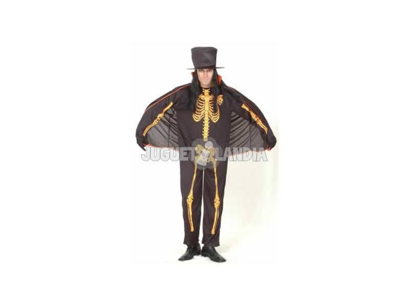 Disfraz Esqueleto Hombre Talla XL