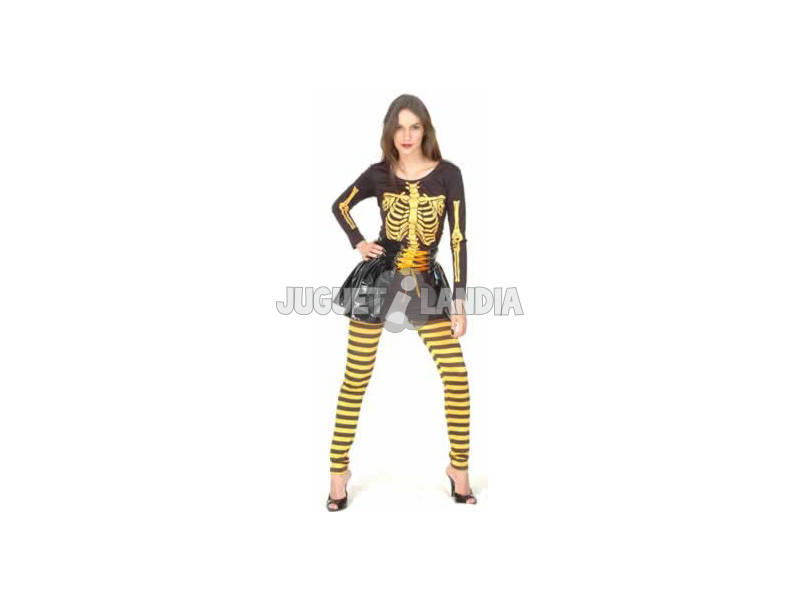 Disfraz Esqueleto Mujer Talla XL