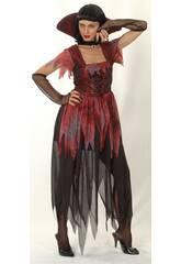 Déguisement vampire gotique femme taille XL