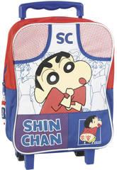 Carrito Mochila Colegial  Shin Chan