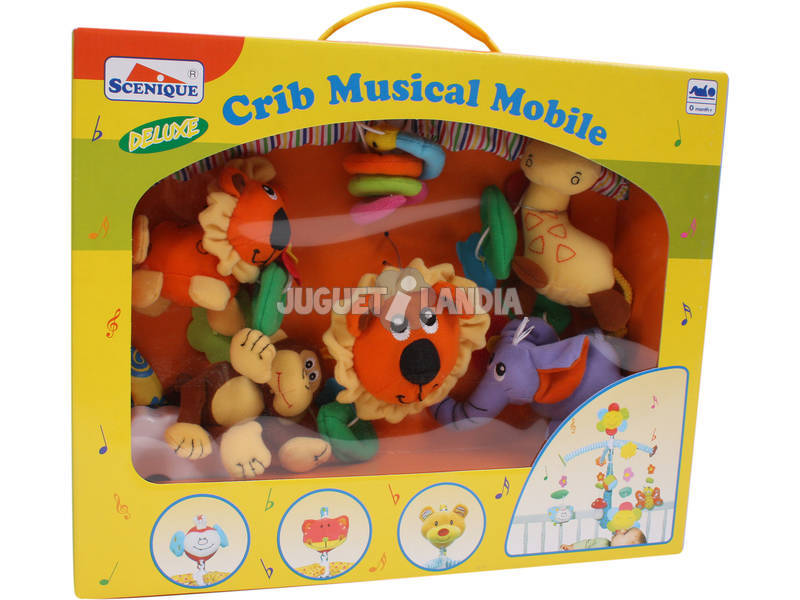 Giostrina musicale animaletti giungla