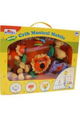 Carrusel musical animalitos jungla