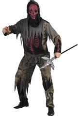 Maschera mostro scheletro uomo Taglia XL