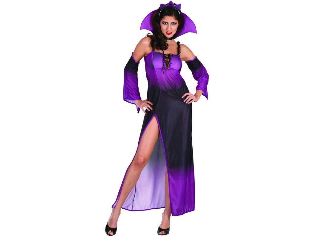 Disfraz Reina del mal Morado mujer Talla L