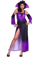 Costume Regina del Male Viola Donna L