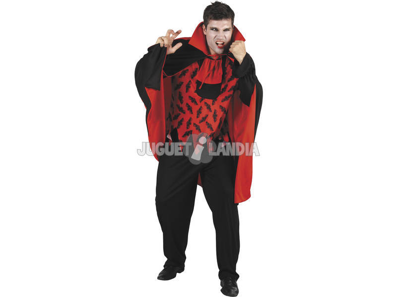 Fantasia Vampiro Mau Homem Tamanho L