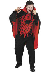 Kostüm Grausamer Vampir Mann Größe L