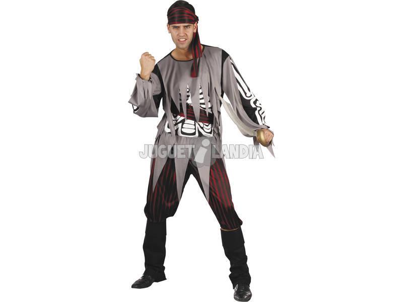 Fantasia Piara Esqueleto Homem Tamanho XL