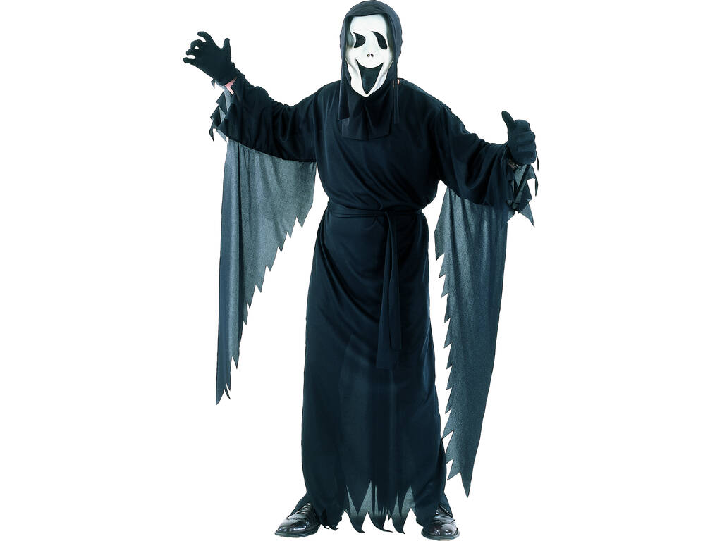 Costume Fantasma Scream Uomo L
