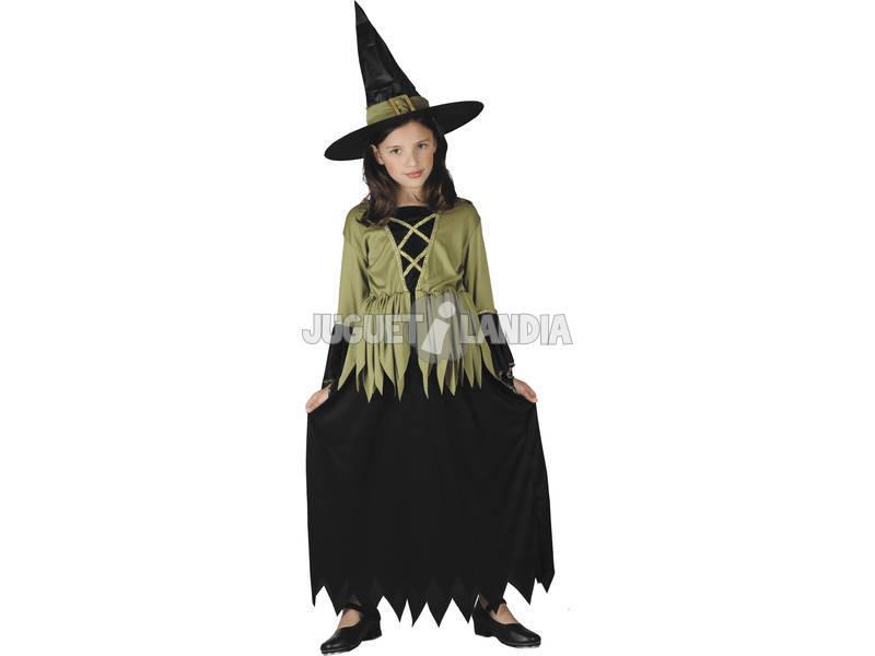 Déguisement sorcière jupe noire taille L