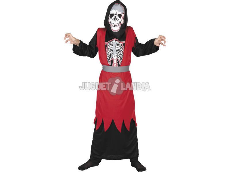 Disfraz Esqueleto Malvado Niño Talla XL
