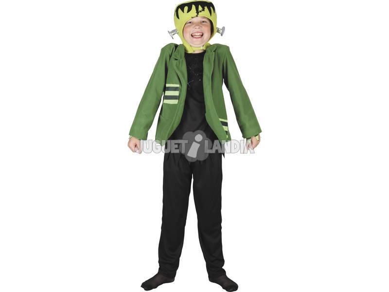 Maschera Mostro Giacca Verde Viti Bambino Tal