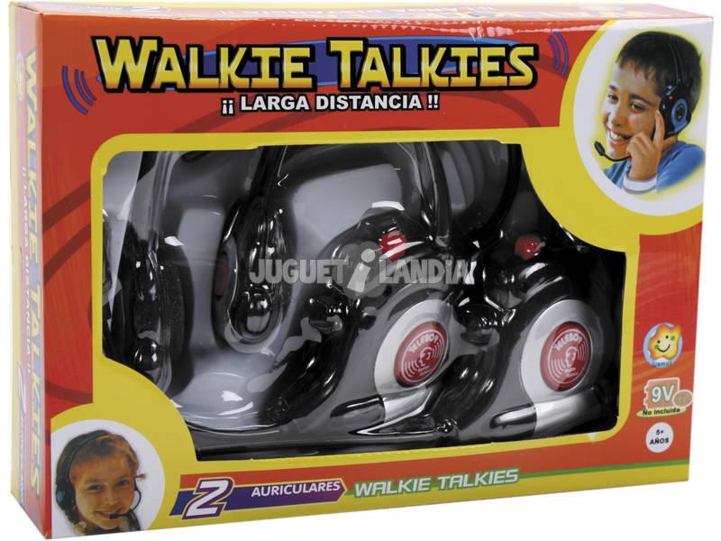 Walkie talkie auricular