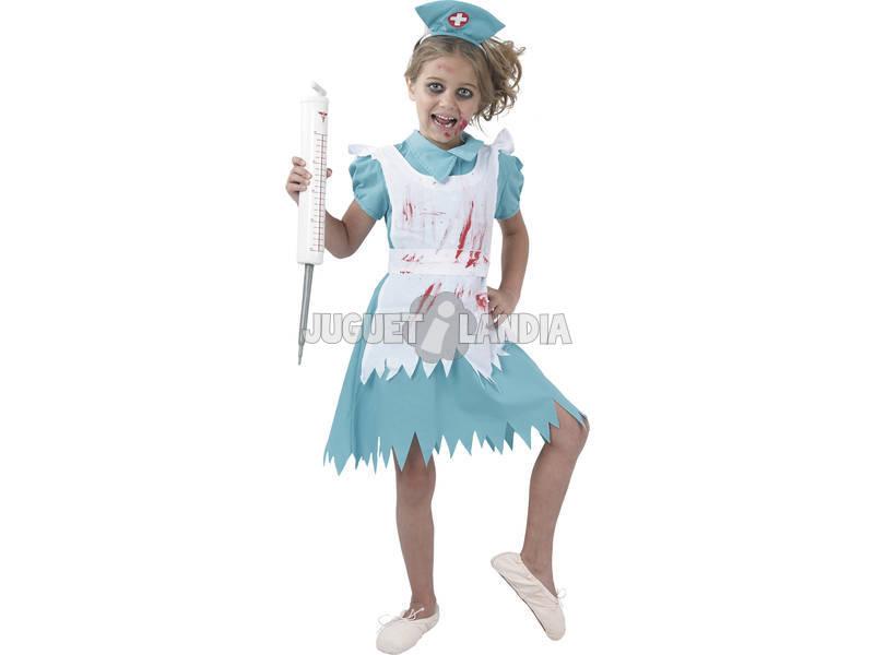 Disfraz Enfermera sangrienta Niña Talla XL