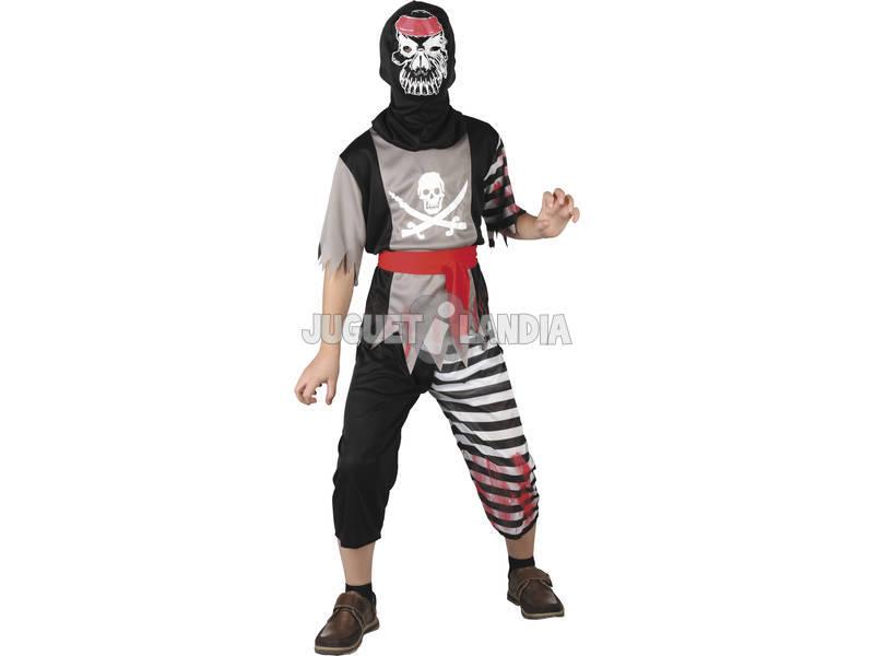 Fantasia Pirata Esqueleto Tamanho XL