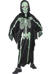 imagen Disfraz Esqueleto 3D Niño Talla XL