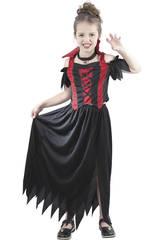 Disfraz Vampira Niña Talla XL