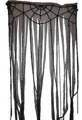 Cortina con tela de araña