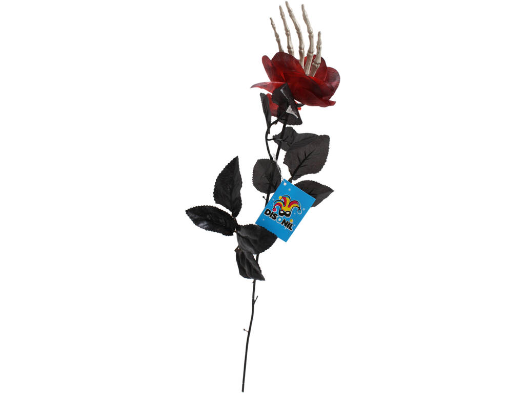 Rosa Con Mano 55 cm.