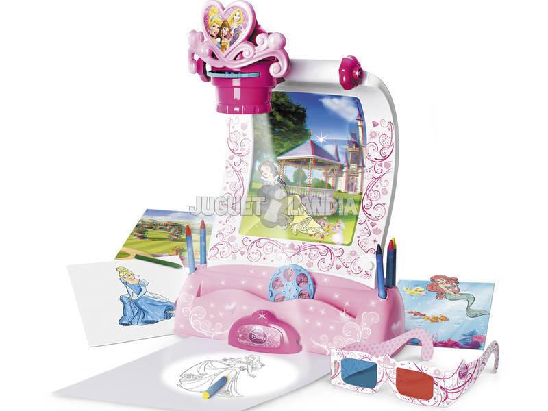 Proyector mágico 3D Princesas Disney