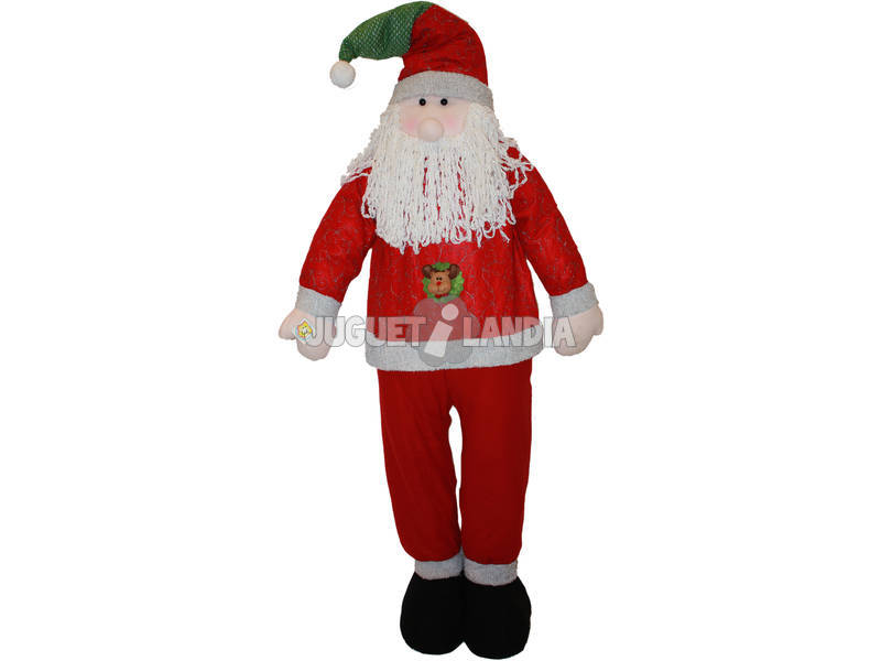Santa claus de 190 cm. Regulable en altura