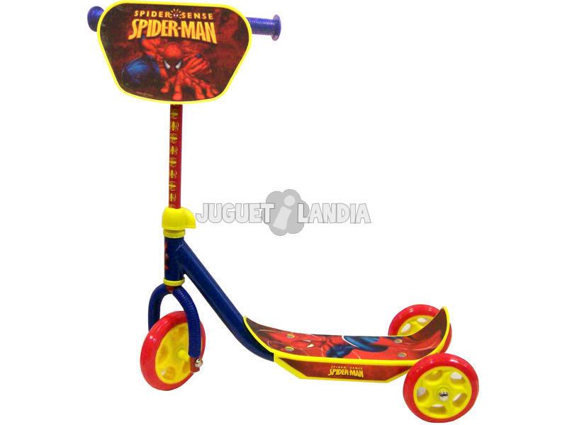 Patinete Spiderman de 3 ruedas
