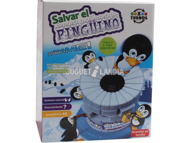Jeu sauver le pingouin