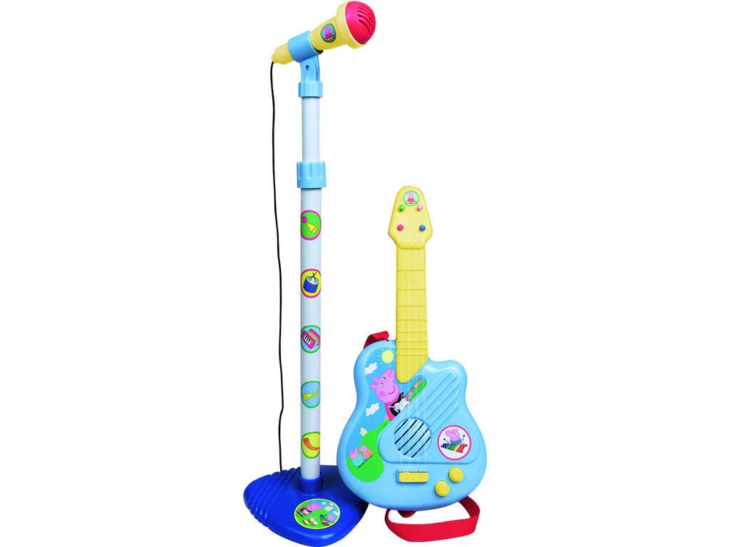 Peppa Pig conjunto guitarra y micro