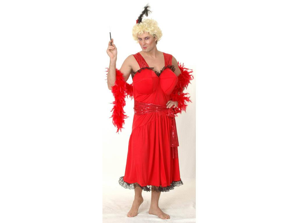 Déguisement Danseuse de Cabaret Homme Taille XL