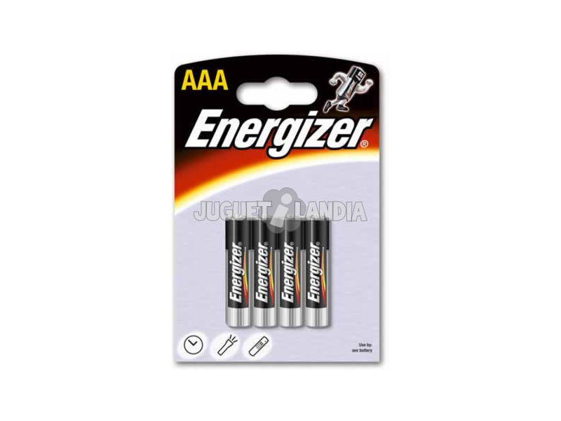 Blister 4 Pilas LR03/AAA Alcalinas Energizer