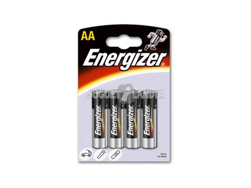 Blister 4 Pilas R-6/AA Alcalinas Energizer