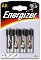 Blister 4 Pilas R-6/AA Alcalinas Energizer