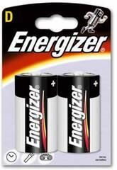 Blister 2 Piles R-20/D Alcalines Energizer