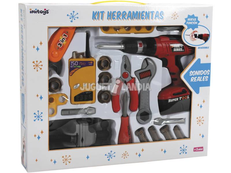kit des outils de 24 pièces avec perceuse