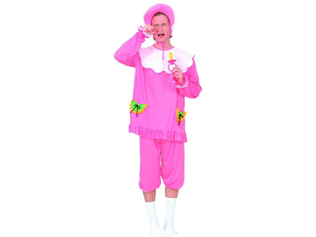 Disfraz Bebé Rosa Hombre Talla XL