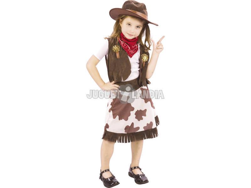 Costume Cowgirl Con Cappello Bimba M