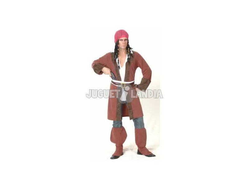 Disfraz Pirata Caribeño Chaqueta Larga Hombre Tall