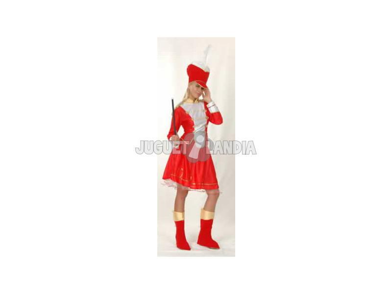 Disfraz Majorette Mujer Talla XL